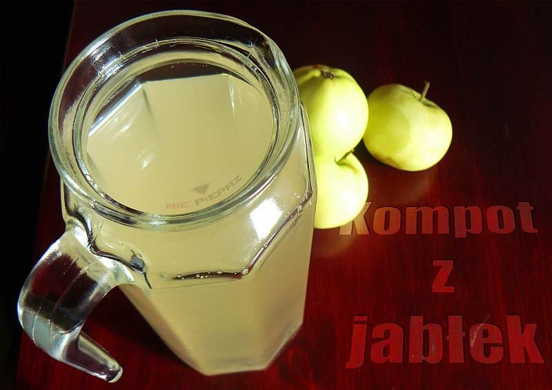 kompot z jablek