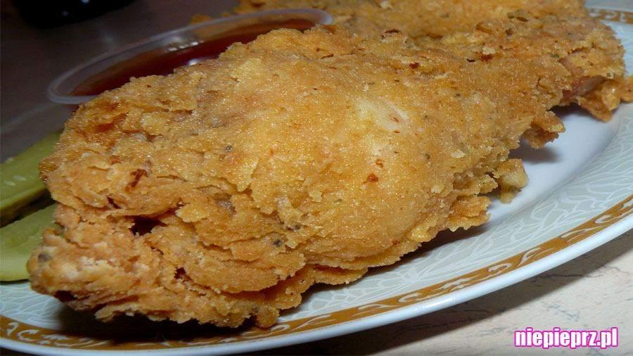 pałki z kurczaka w panierce